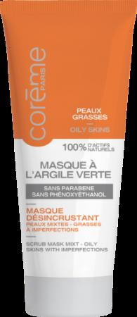 Masque argile verte Coreme Paris