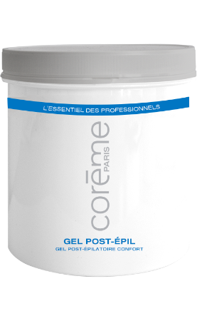 gel post épilatoire confort Coreme Pro